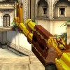 Gold AK 47 A Free Action Game