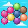 It is necessary to add three and more balls of one color together that they would be deleted from a game field, and you received game coins. Very addictive and fun!
