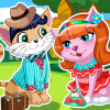 Sweet Kitten Date A Free Dress-Up Game