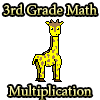 3rd Grade Math Multiplication