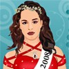 Alizee Poulicek: Miss Belgium, 2008 A Free Dress-Up Game