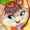 Naughty Kitten Like To Go Fishing A Free Dress-Up Game