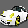 Fast white grand car coloring A Free Customize Game
