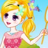 Girl Catching Butterflies A Free Dress-Up Game
