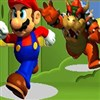 Run Mario run from Bowser chasing! Grab mushroom scattered to gain stamina and run faster