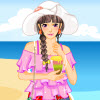 Do you already have plans for your summer vacation? Sally invited her best friends for a summer beach holiday! Now she needs your fashion advice to choose the most beautiful dress, shoes and accessories. Let`s help her dress up and have a great summer beach vacation! Have fun!