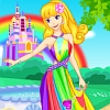 Rainbow Princess Dress Up