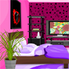 Lorraine needs your help with some cool Emo makeup ideas. She wants to decorate her room with some cool colours since she is going to get her boy friend to her room. Can you please help her?