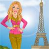 Barbie visits Paris A Free Dress-Up Game
