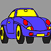 Sport luxury car coloring