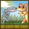 Help the farmer to catch all of the bunnies using different objects and traps.