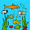 Ocean aquarium coloring A Free Customize Game