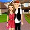 Cute Romantic Couple Dress Up