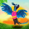 The Blue Parrot A Free Dress-Up Game