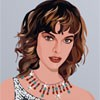 Dress up this cute model of Milla Jovovich. Drag and drop the various clothes, accessories, and hair onto your character to dress up and make them look their best.