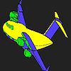 Custom aircraft coloring