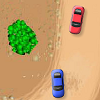 Desert Racing is a 2D racing game for one player with a nice track. You have to finish the race among the first competitors in order to go to the next level. Avoid sides of the road. They will slow you down.