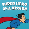 Help Super Hero navigate the busy sky by avoiding birds, clouds and tree tops, good luck and hope that you're successful in saving the world and stopping crime!