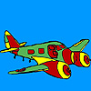 Jet airplane coloring