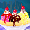 What`s the best way to get over a breakup? A banana split! Sure, you might have broken up with the love of your life five minutes ago, but when you sit down and share this banana split with your BFF, the tears will fall away as you scarf down the ice cream and laugh away the heartache.