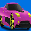Mini colorful concept car coloring