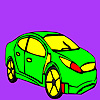 Fast famous car coloring Game.