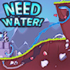 Need Water is a new challenging game like the where is my water game. Dig through the ground and try to get the water (and oil) to the factories. Destroy stones and control the liquids. The water should be guided to the water factory and the oil to the oil factory. Collect the diamonds that are hidden in the earth and buy new skills and items in the upgrade panel. Unlock the achievements and earn rewards. Try to complete all the challenging levels.