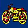 New motorcycle coloring A Free Customize Game
