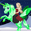 Magical Unicorn A Free Dress-Up Game