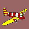 Modern jet coloring Game.
