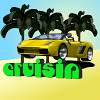 Cruisin: it`s a beautiful sunny day and you`re on a tropical island, why not take one of your super-cars out for a cruise? Collect tokens for extra boost and see if you can beat the others twice around the islands! Win all the races to unlock a new car!