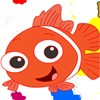 Fish are friends not food! Which is why you are going to color your cute friend from the sea.