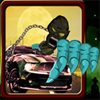 Chase the zombies in the Zombies Chase Down Game. Drive your car and smash the targeted zombie car. Use arrow keys to move and space bar to shoot the zombie car. In every level target is assigned on the ride of the game screen. Dont waste time. Good Luck...