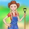 Barbie Farm Girl A Free Dress-Up Game