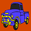 Building truck coloring