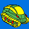 Military tank coloring