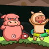 Piggy Wars A Free Action Game