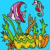 Seaweeds coloring