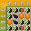 In this puzzle game you have to combine 3 or more fruits of the same kind as fast as possible. The goal is to combine as often as possible 4 or better 5 of the same kind to get extra time.