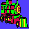 Fast locomotive coloring
