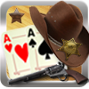 Wester Solitaire poker is based on solitaire card games.  As the cards are dealt one at a time from the desk, you need to place them on screen to try to create the best possible combination of poke hands on each row and column.