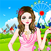 Dressupgirlus.com - Barbie lives in a beautiful castle, near a wonderful park. So you can imagine how wonderful her life is. Today she decides to spend all day going out. Let`s help her dress up and enjoy this game.