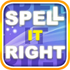 Improve your spelling with Spell it right! The game contains hundreds of the most misspelled words! Play a FREE PLAY mode or CHALLENGE mode in which you are playing on score against people all around the world!