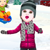 First Snowflakes A Free Dress-Up Game