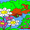 Big forest coloring Game.