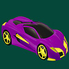 Best class racing car coloring