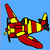 High flying aircraft coloring