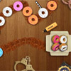Fantastic free most popular chain reaction game. The police inspector Doughnut is always ready to investigate the most intricate crimes, to follow in the tracks of sly criminals and even to perform feats! But at first he should delete all doughnuts in the nearest cafe. Shoot at the doughnut chain thus to delete three or more doughnuts of the same color. Don`t forget to catch the bonuses; they will help you to pass the game quicker. Pass all twenty skill levels so that the inspector begins to keep watch.