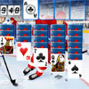 Open for yourself new chain reaction game from Free-Online-Action.com. You have to play the whole hockey period in the excellent variation of classic card game. Your task is to clear the tableau from the cards. The foundations are built up in ascending suit sequence from Ace to the King. The exposed card of a tableau column may be transferred to a foundation of the same suit if it follows the ascending sequence or to the exposed card of another column if it forms a descending sequence of alternating colours. When a tableau column is completely cleared out, the space may only be filled by a King or a packed column headed by a King. When no more moves are available from the tableau, the top card from the stock is dealt face up. Pass the game as quick as possible as the time is limited! Publish the best results on line at Top 10.