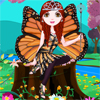 Beautiful Butterfly Girl A Free Dress-Up Game